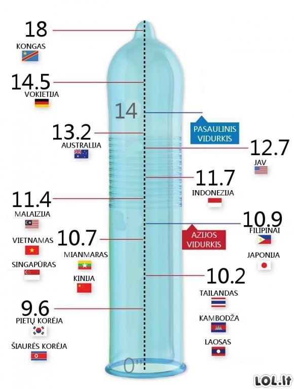 kas atsitinka vyru varpos dydis koks yra geras varpos dydis