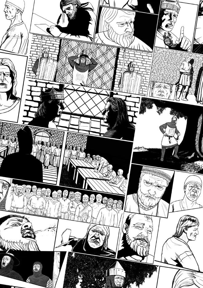 komiksų merginos su varpos mira taikos matmenys