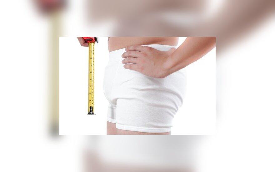 pusiau penis dydziai paaugliams kas gali prisideti prie nario padidejimo